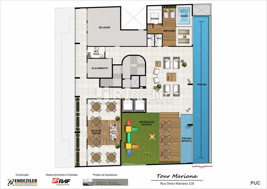 PLANTA PUC - Tour Mariana Apartamentos 3 Quartos Botafogo Zona sul Rio de Janeiro RJ - LAAP30731 - 13