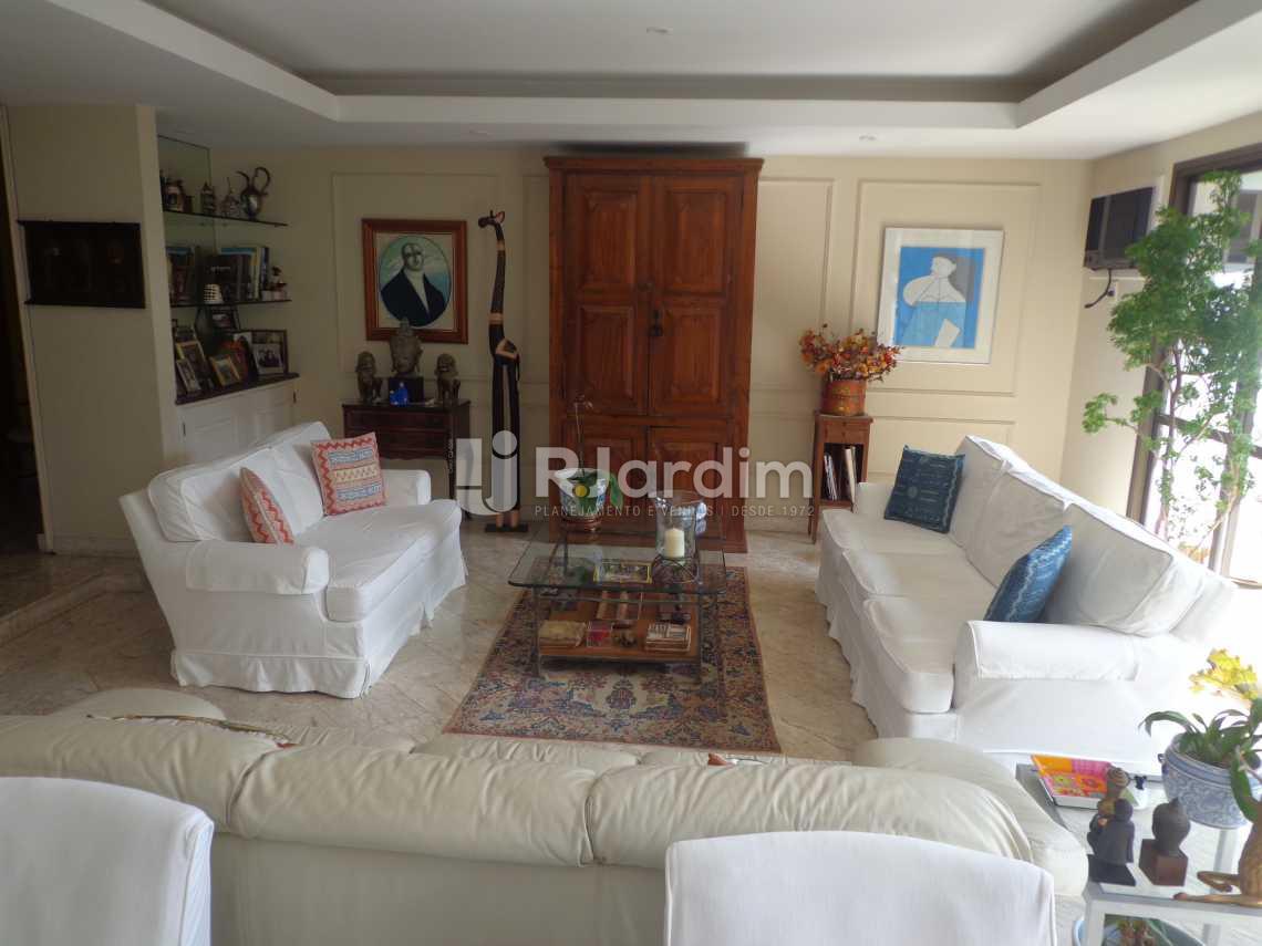 living - Apartamento À VENDA, Fonte da Saudade, Lagoa, Rio de Janeiro, RJ - LAAP40333 - 3