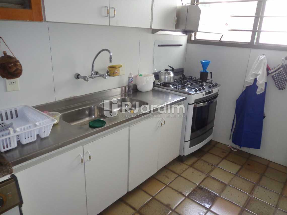 cozinha - Apartamento À VENDA, Fonte da Saudade, Lagoa, Rio de Janeiro, RJ - LAAP40333 - 18