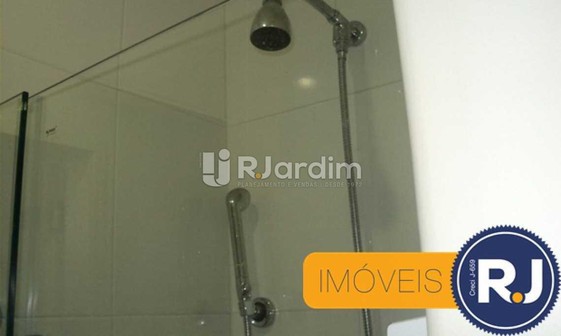 Banheiro suite - Apartamento À VENDA, Copacabana, Rio de Janeiro, RJ - LAAP30741 - 9