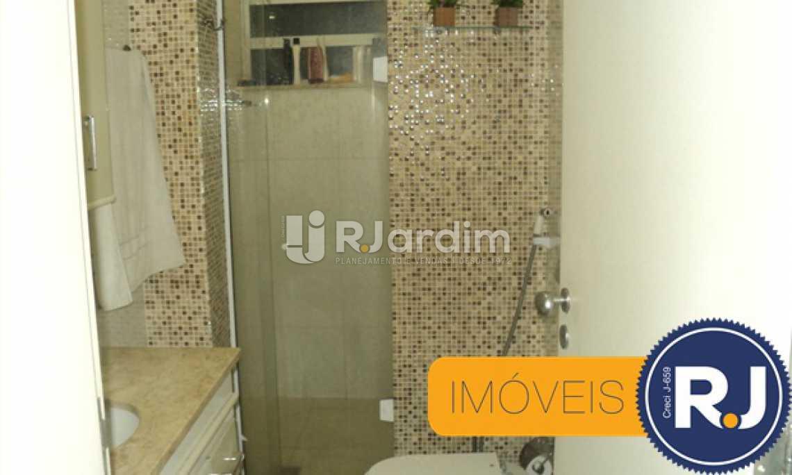 Banheiro suite - Apartamento À VENDA, Copacabana, Rio de Janeiro, RJ - LAAP30741 - 25
