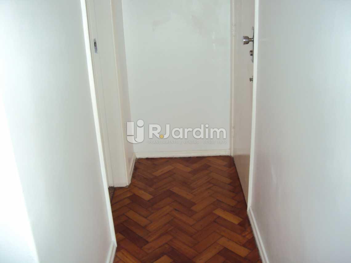 Hall - Apartamento 1 Quarto Leblon Zona sul Rio de Janeiro RJ - LAAP10130 - 3