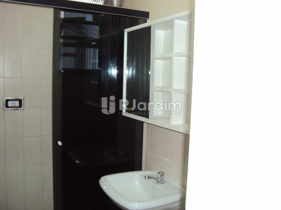 Banheiro - Apartamento 1 Quarto Leblon Zona sul Rio de Janeiro RJ - LAAP10130 - 10