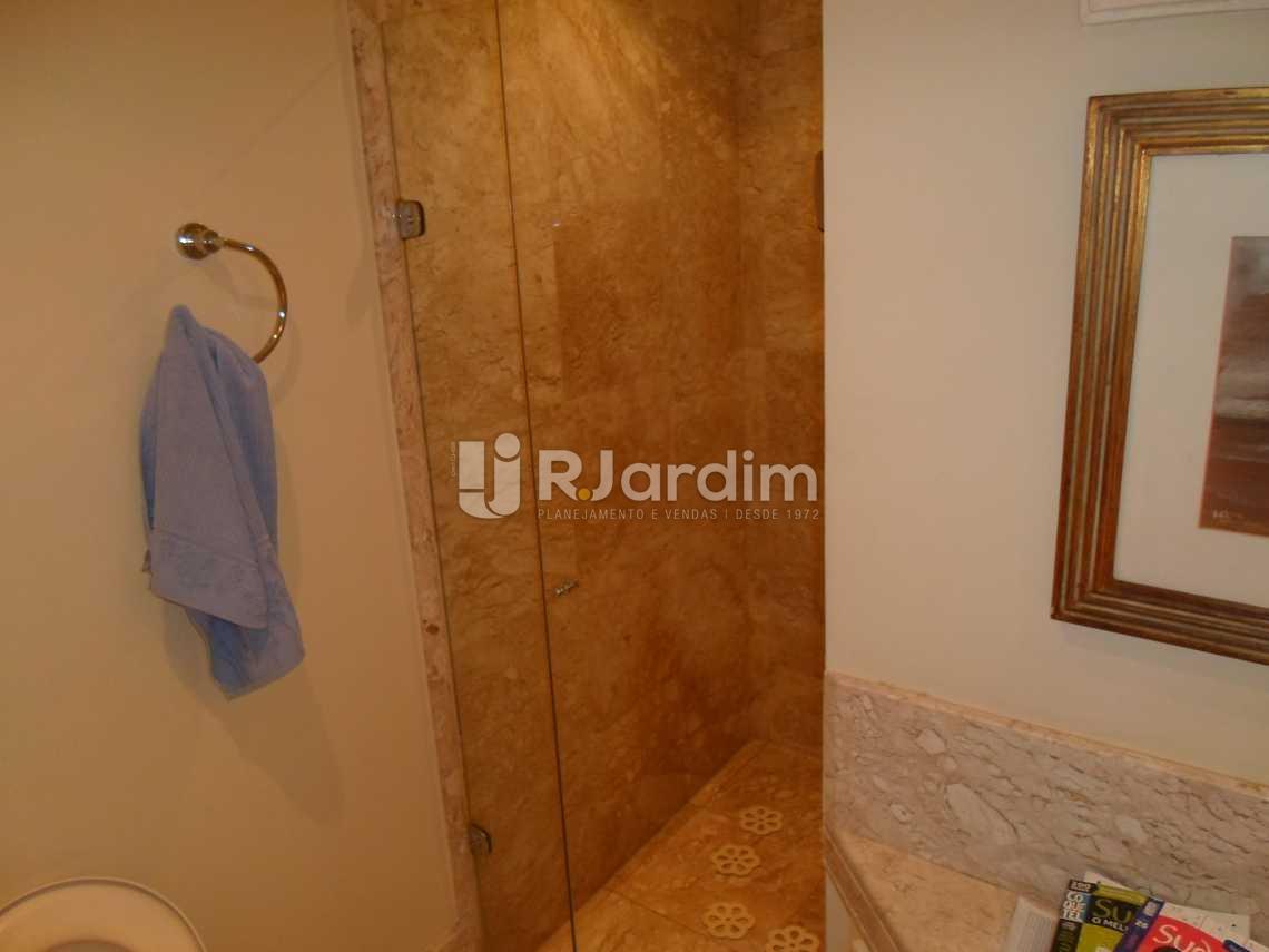 Banheiro social  - Imóveis Compra e Venda Leblon 3 Quartos - LAAP30761 - 25