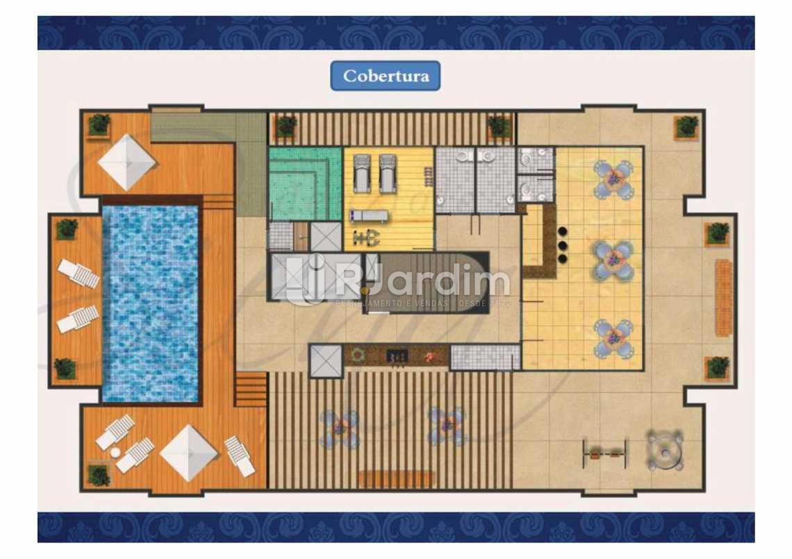 PLANTA COBERTURA - Apartamento Méier,Rio de Janeiro,RJ À Venda,2 Quartos,61m² - LAAP20552 - 25
