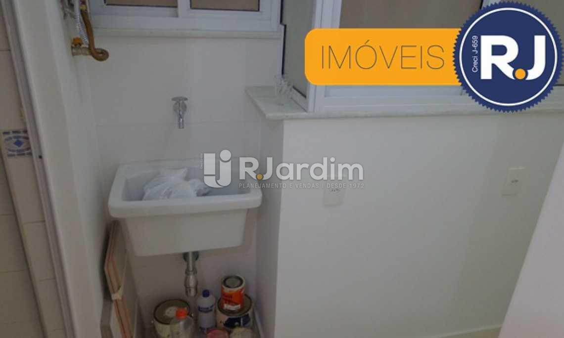 ÁREA DE SERVIÇO - Apartamento 2 Quartos À Venda Humaitá, Zona Sul,Rio de Janeiro - R$ 890.000 - LAAP20555 - 21