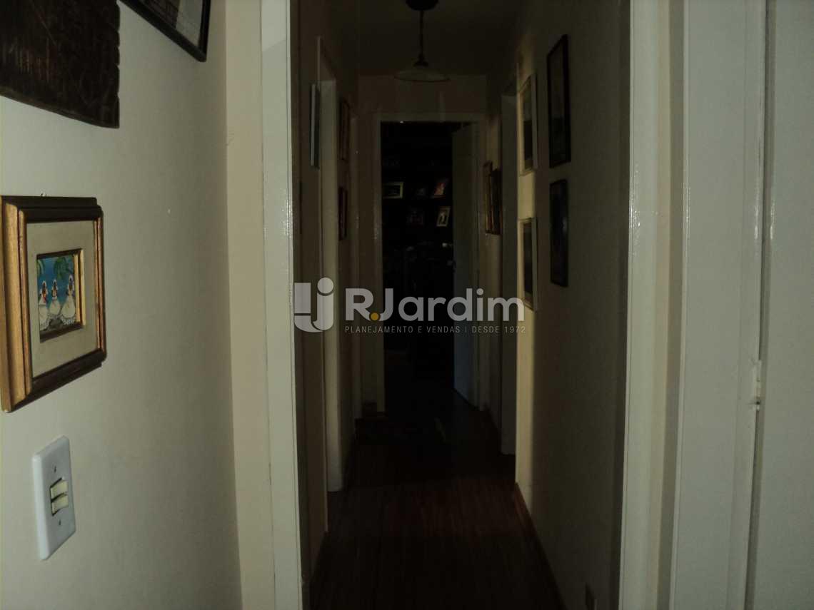 Circulação - Apartamento 3 Quartos Cosme Velho Zona sul Rio de Janeiro RJ - LAAP30772 - 8