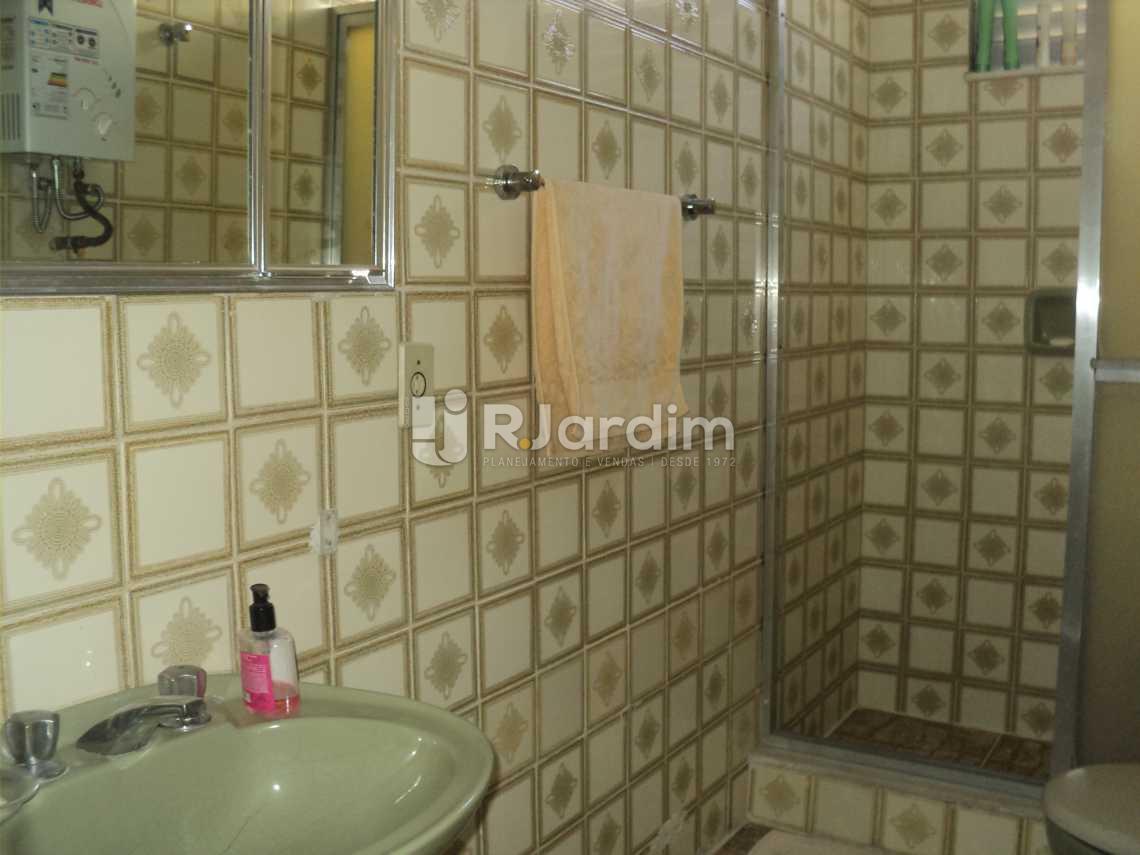 Banheiro Social - Apartamento 3 Quartos Cosme Velho Zona sul Rio de Janeiro RJ - LAAP30772 - 10