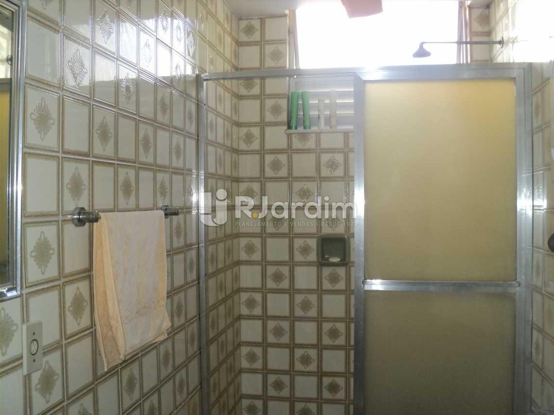 Banheiro Social - Apartamento 3 Quartos Cosme Velho Zona sul Rio de Janeiro RJ - LAAP30772 - 11