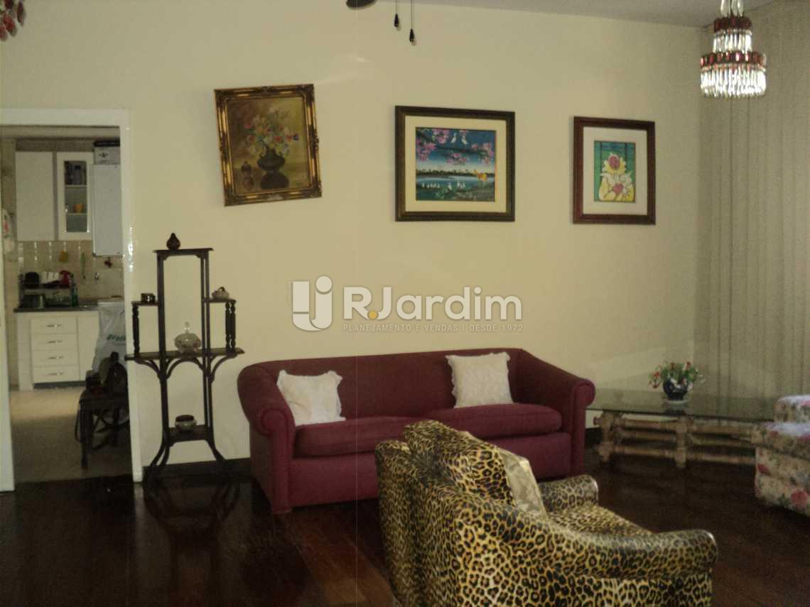 Salão - Apartamento 3 Quartos Cosme Velho Zona sul Rio de Janeiro RJ - LAAP30772 - 3