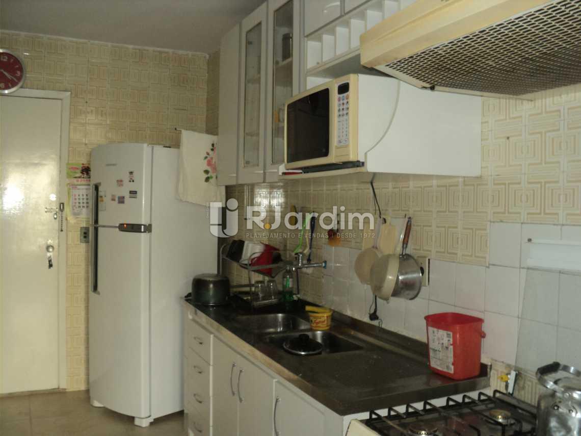 Copa -cozinha - Apartamento 3 Quartos Cosme Velho Zona sul Rio de Janeiro RJ - LAAP30772 - 22
