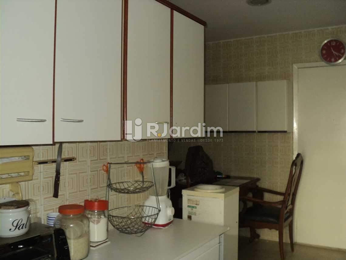 Copa-cozinha - Apartamento 3 Quartos Cosme Velho Zona sul Rio de Janeiro RJ - LAAP30772 - 23