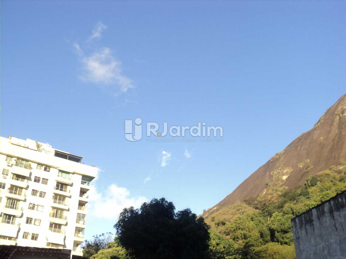 Vista das piscinas - Apartamento 3 Quartos Cosme Velho Zona sul Rio de Janeiro RJ - LAAP30772 - 27