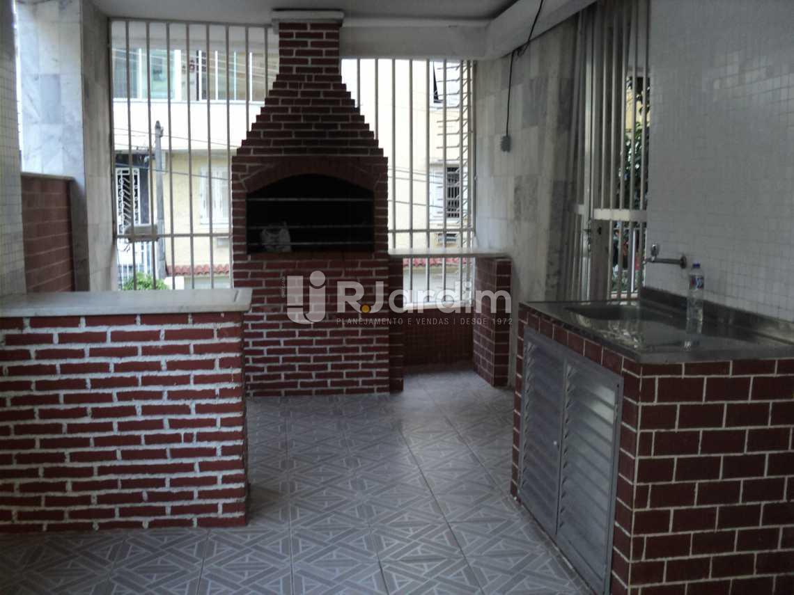 Churrasqueira - Apartamento 3 Quartos Cosme Velho Zona sul Rio de Janeiro RJ - LAAP30772 - 28