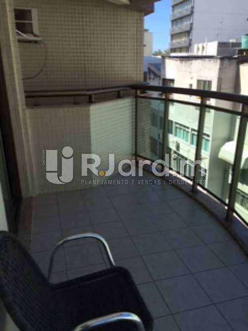 Varanda - Flat Residencial Ipanema Zona Sul Rio de Janeiro RJ - LAFL10021 - 4