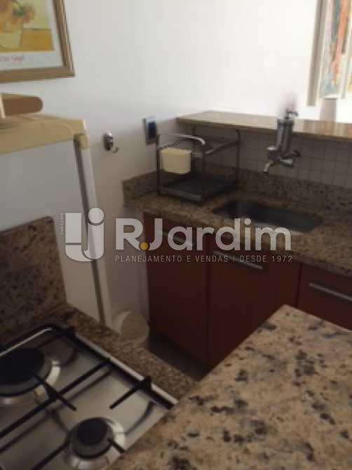 Cozinha americana - Flat Residencial Ipanema Zona Sul Rio de Janeiro RJ - LAFL10021 - 10