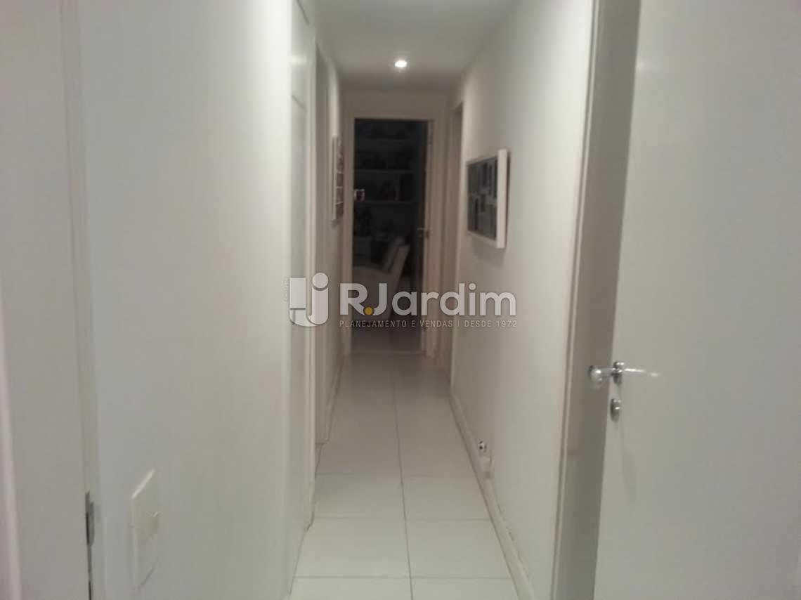 circulação - Apartamento Lagoa, Zona Sul,Rio de Janeiro, RJ À Venda, 4 Quartos, 126m² - LAAP40345 - 5
