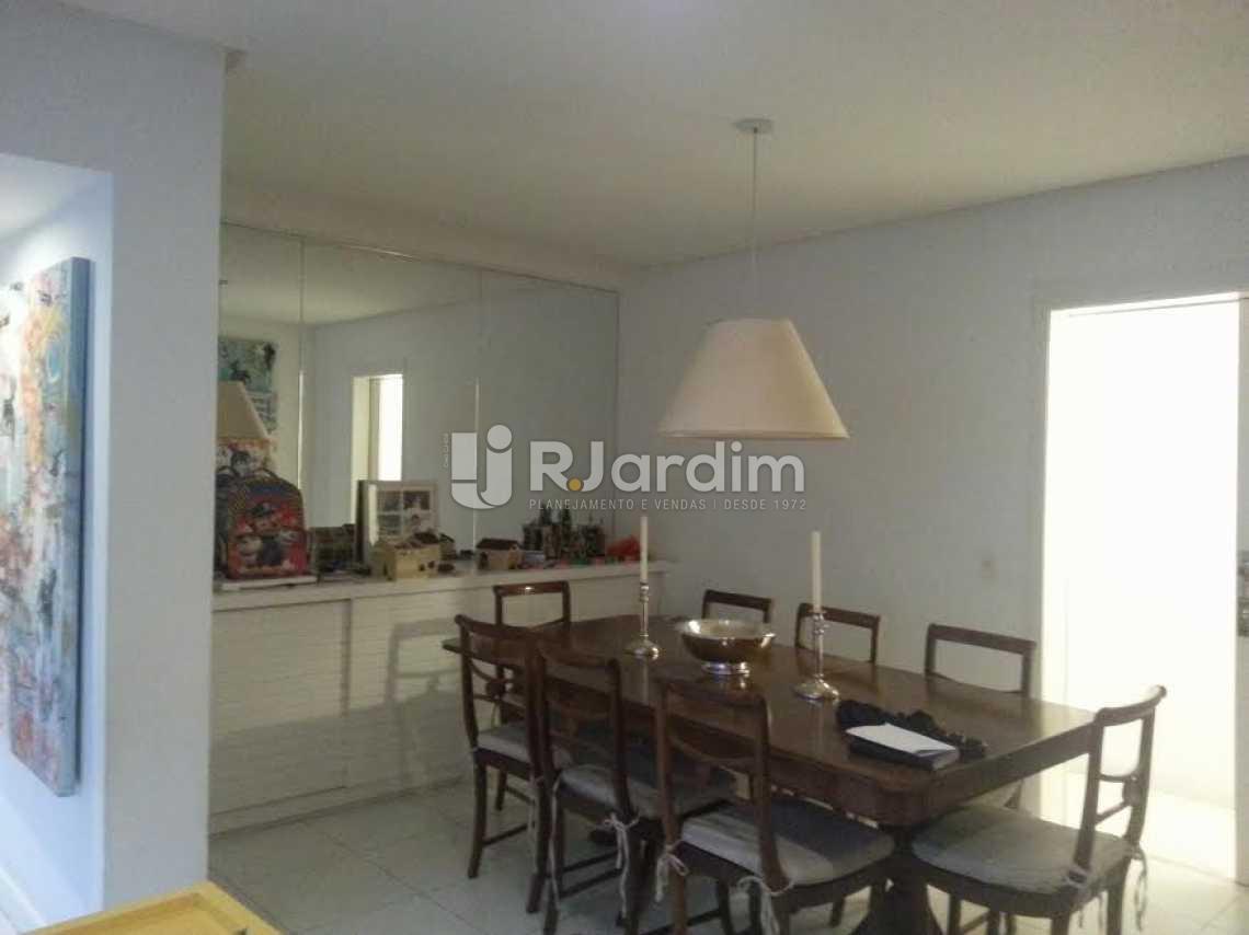 sala jantar - Apartamento À VENDA, Lagoa, Rio de Janeiro, RJ - LAAP40345 - 4