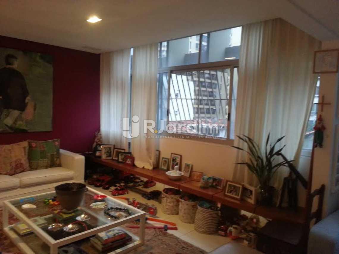 sala - Apartamento Lagoa, Zona Sul,Rio de Janeiro, RJ À Venda, 4 Quartos, 126m² - LAAP40345 - 1