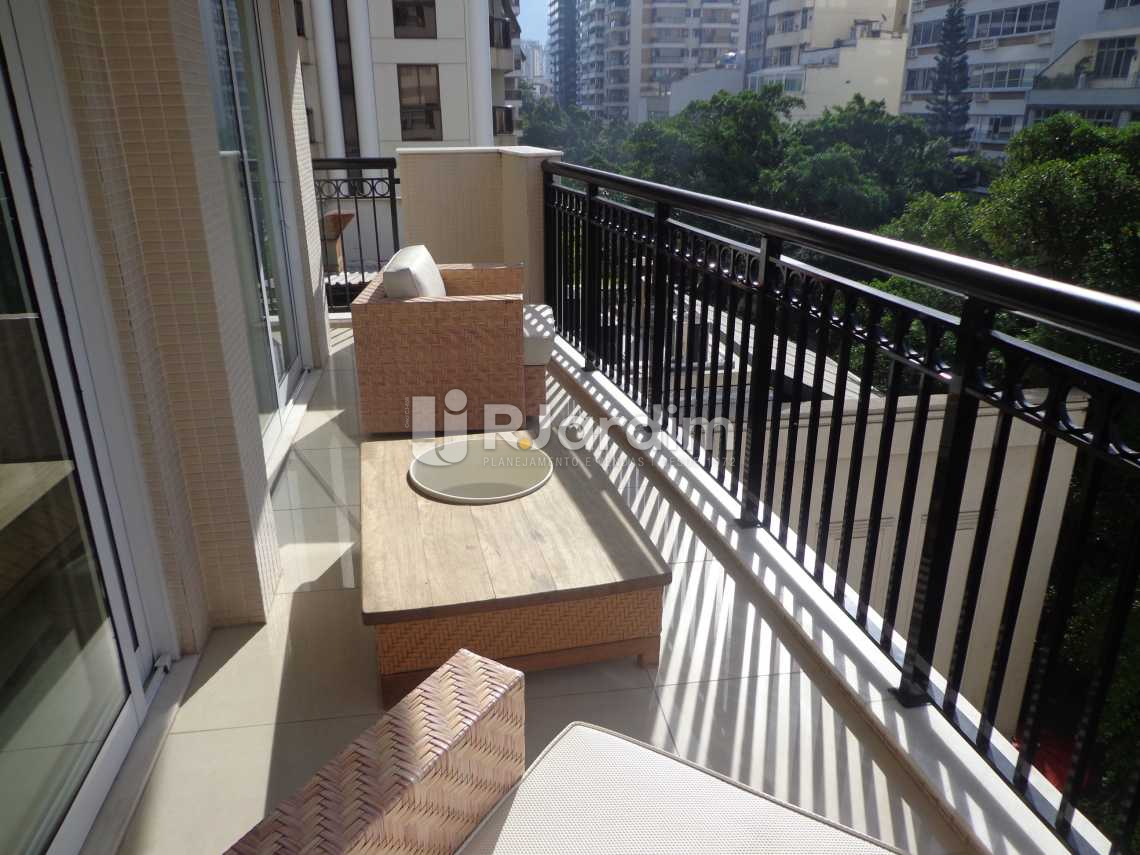 Varanda - Flat 2 quartos à venda Ipanema, Zona Sul,Rio de Janeiro - R$ 3.700.000 - LAFL20017 - 5