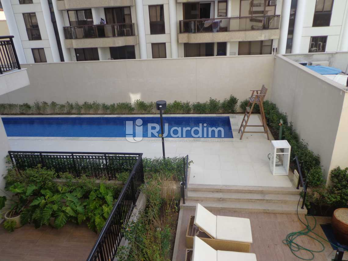 Vista lateral - Flat 2 quartos à venda Ipanema, Zona Sul,Rio de Janeiro - R$ 3.700.000 - LAFL20017 - 11