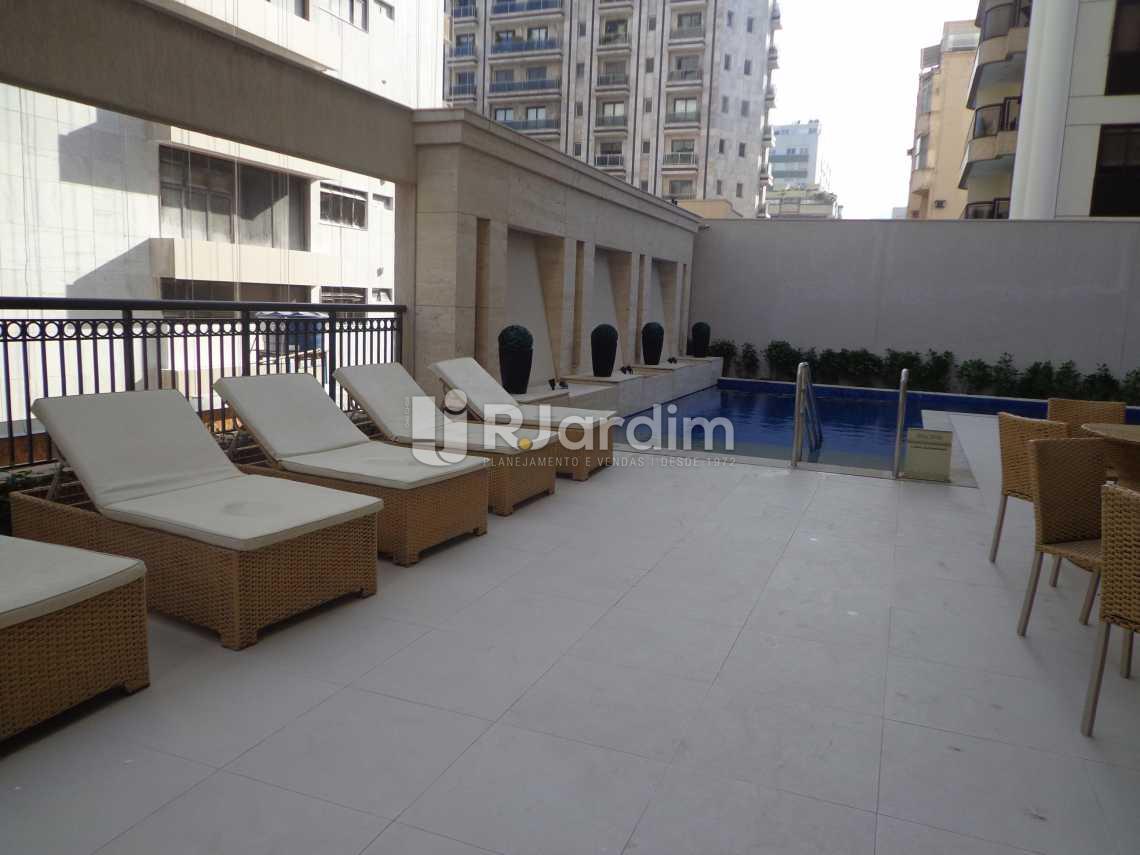Piscina - Flat 2 quartos à venda Ipanema, Zona Sul,Rio de Janeiro - R$ 3.700.000 - LAFL20017 - 24