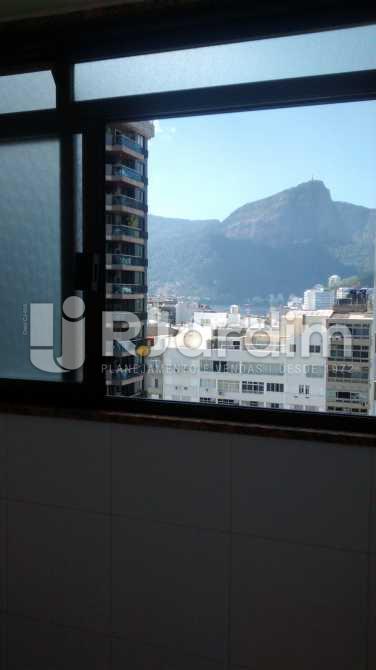 vista da cozinha  - Cobertura 3 quartos à venda Ipanema, Zona Sul,Rio de Janeiro - R$ 5.200.000 - LACO30111 - 14