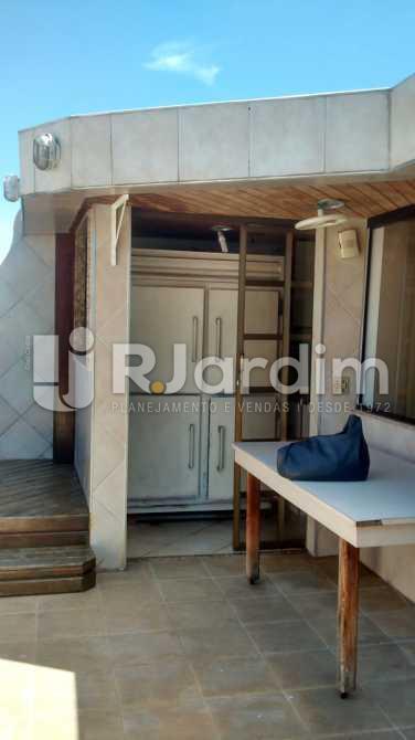 cozinha / terraço  - Cobertura 3 quartos à venda Ipanema, Zona Sul,Rio de Janeiro - R$ 5.200.000 - LACO30111 - 15