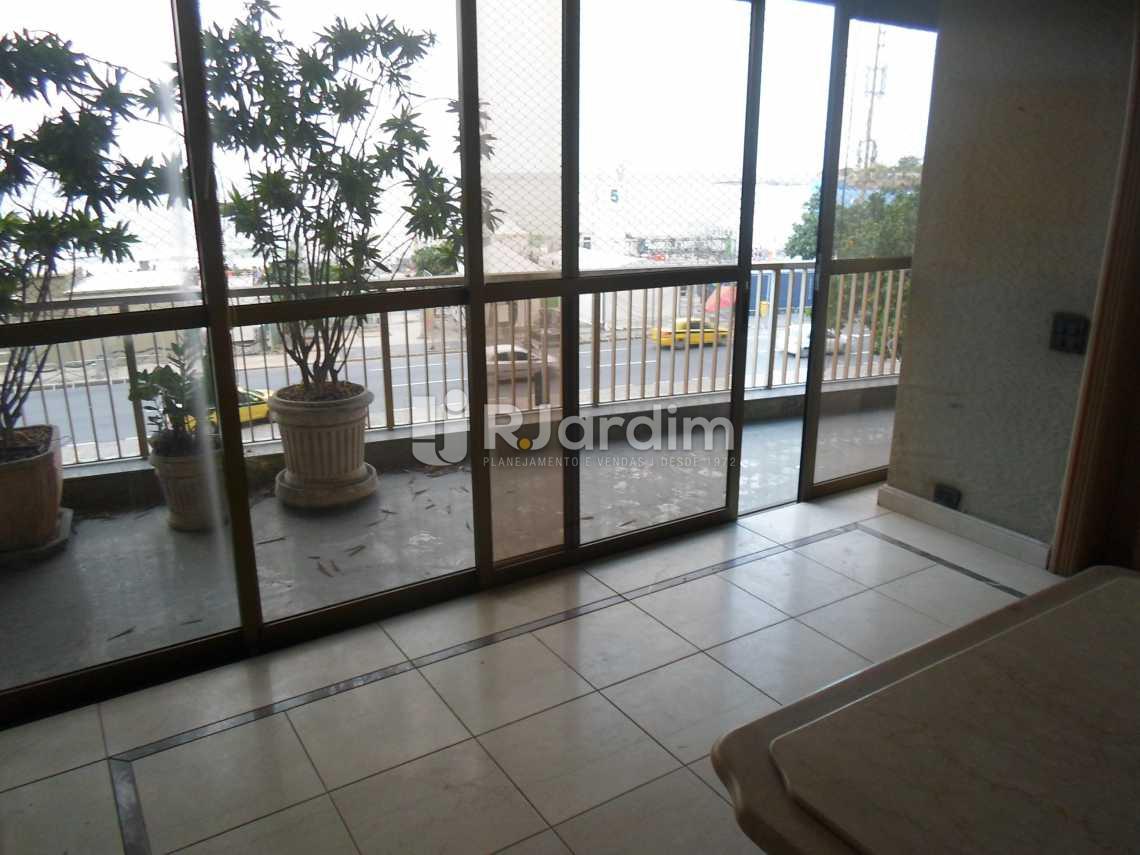 varanda - Compra Venda Avaliação Imóveis Apartamento Copacabana 3 Quartos - LAAP30798 - 5