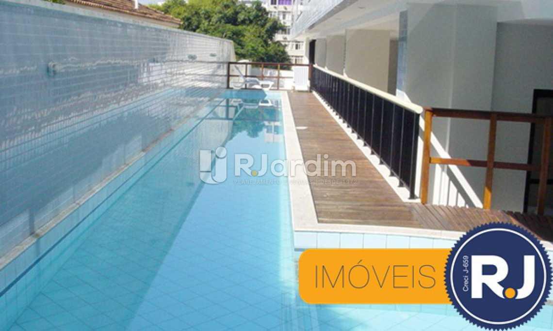 piscina  - Imóveis Aparthotel Compra e Venda Copacabana 1 Quarto - LAAP10136 - 5