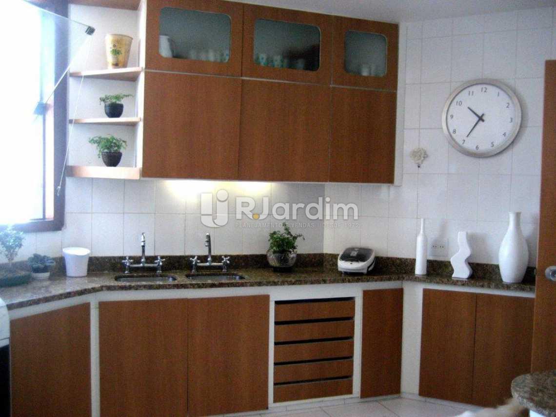 cozinha - Casa em Condominio À VENDA, São Conrado, Rio de Janeiro, RJ - LACN50004 - 13