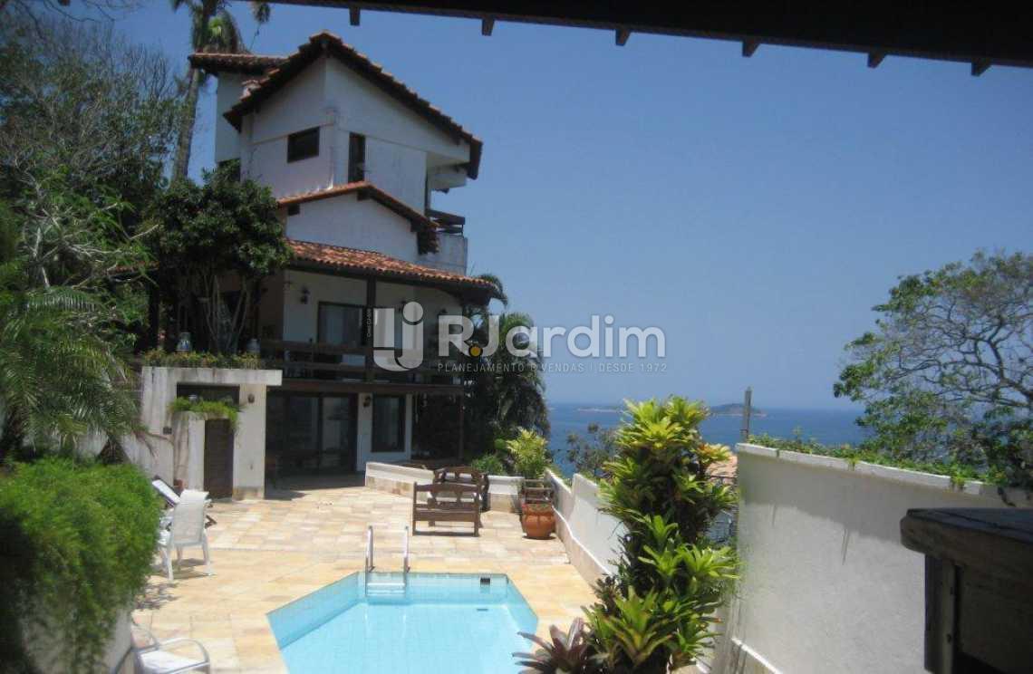área da piscina  - Casa em Condominio À VENDA, São Conrado, Rio de Janeiro, RJ - LACN50004 - 14