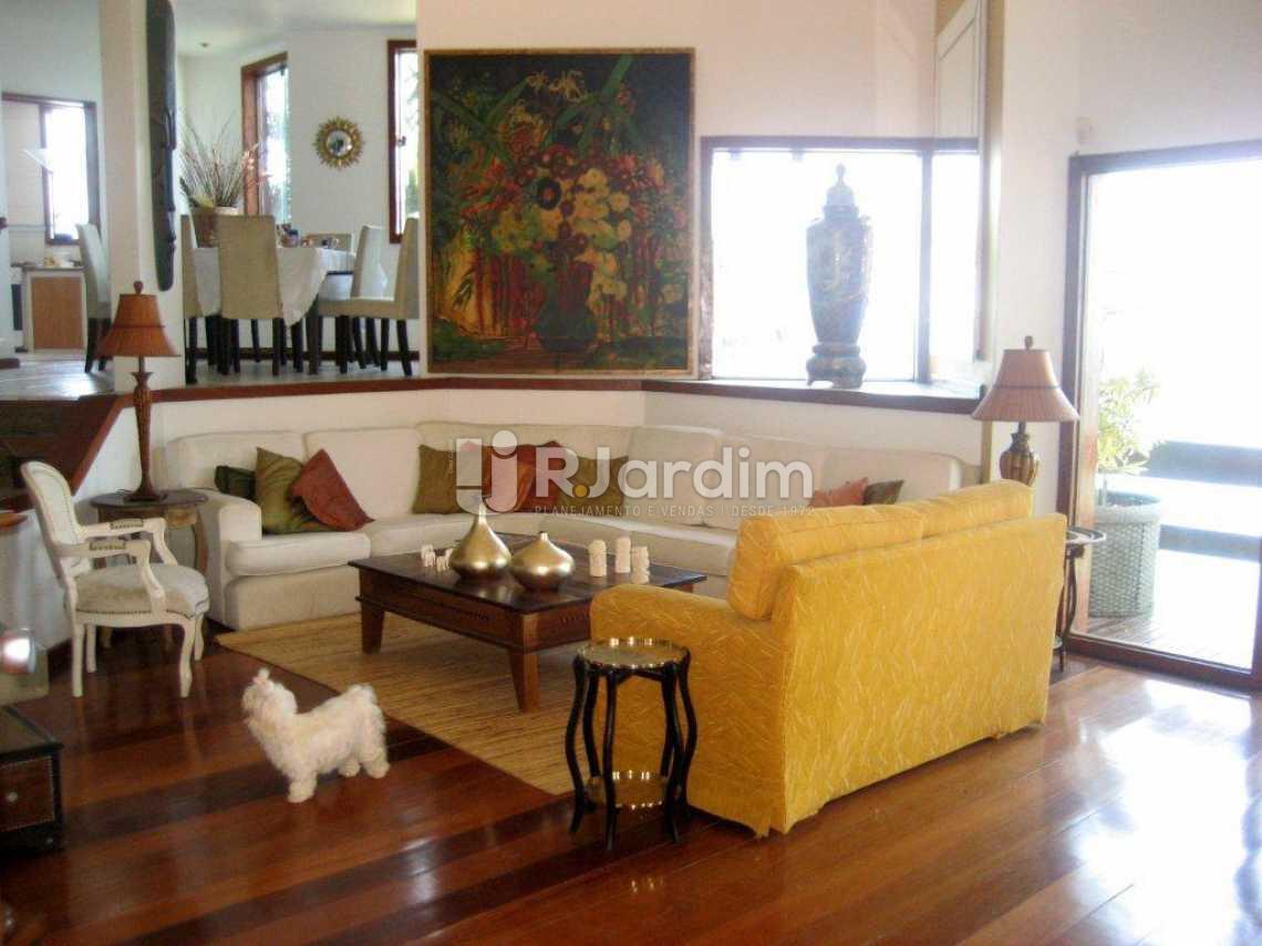 sala  - Casa em Condominio À VENDA, São Conrado, Rio de Janeiro, RJ - LACN50004 - 15