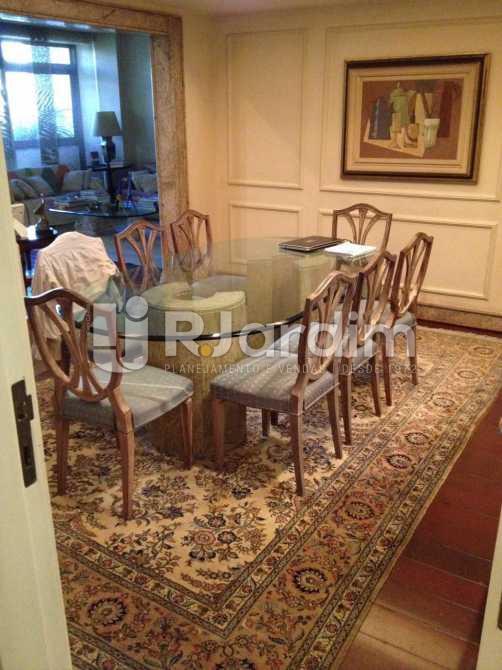 sala de jantar - Apartamento À VENDA, Leblon, Rio de Janeiro, RJ - LAAP40353 - 6