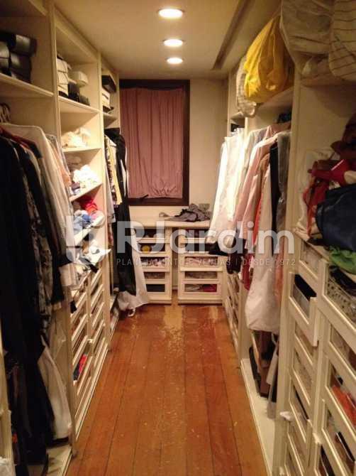 closet - Apartamento À VENDA, Leblon, Rio de Janeiro, RJ - LAAP40353 - 19