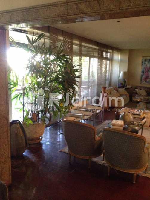 living - Apartamento à venda Avenida Borges de Medeiros,Leblon, Zona Sul,Rio de Janeiro - R$ 7.500.000 - LAAP40353 - 5