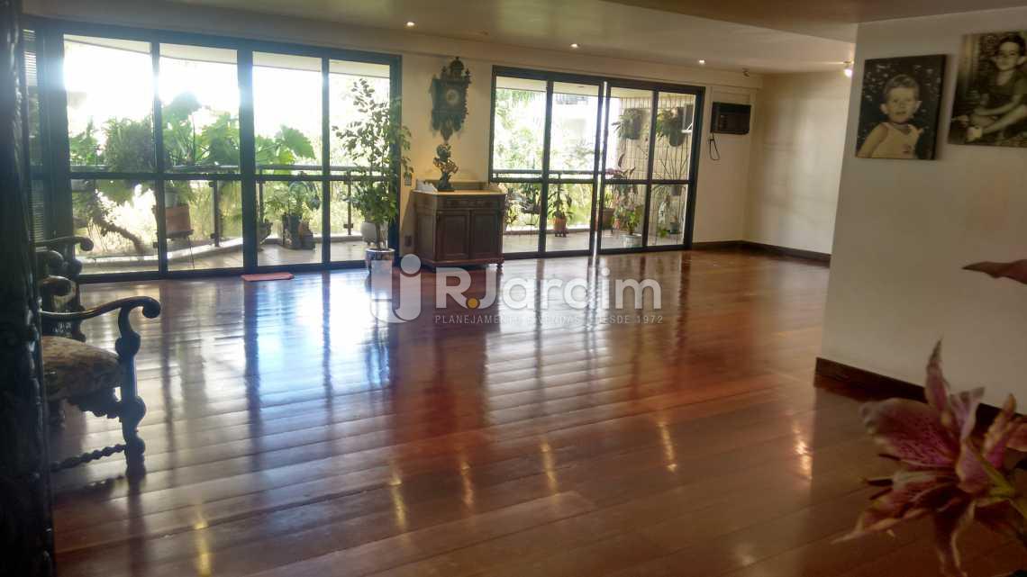 Sala - Apartamento À VENDA, Lagoa, Rio de Janeiro, RJ - LAAP40356 - 8