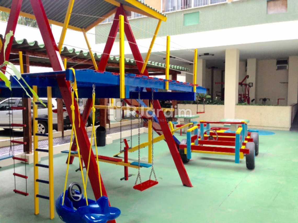 Playground - Apartamento à venda Rua Lópes Quintas,Jardim Botânico, Zona Sul,Rio de Janeiro - R$ 1.000.000 - LAAP30807 - 24