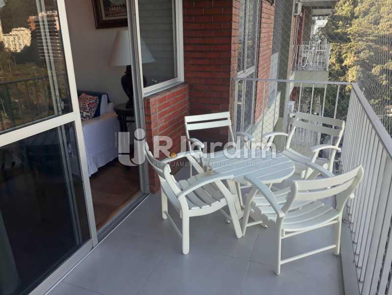 varanda /  Sala - Compra Venda Avaliação Imóveis Apartamento Lagoa 3 Quartos - LAAP30831 - 9