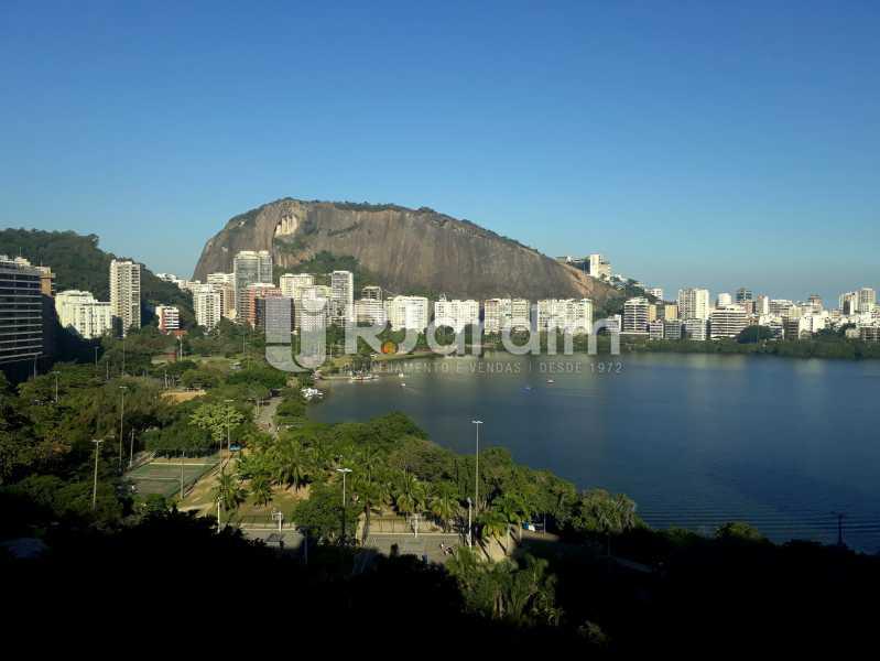 vista - Compra Venda Avaliação Imóveis Apartamento Lagoa 3 Quartos - LAAP30831 - 1