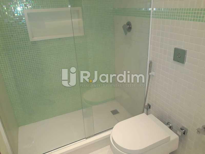 banheiro / Suite Master - Compra Venda Avaliação Imóveis Apartamento Lagoa 3 Quartos - LAAP30831 - 20