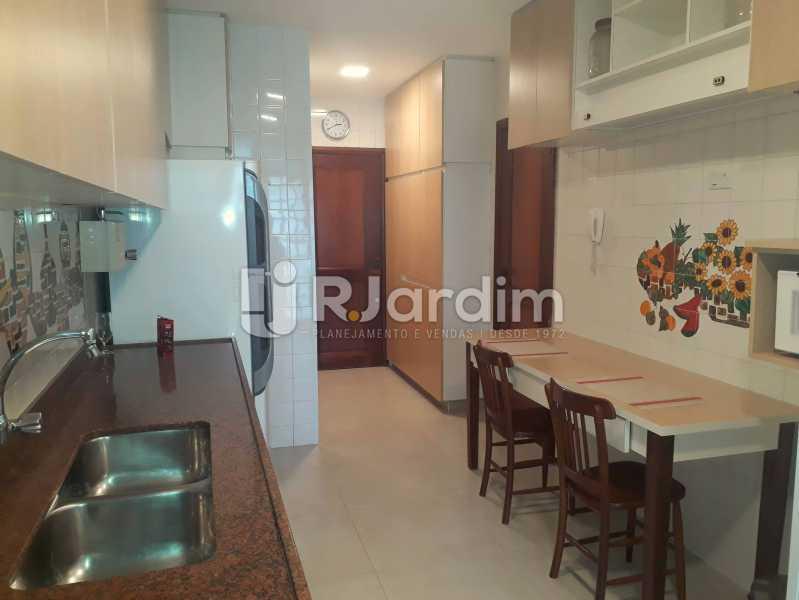 cozinha - Compra Venda Avaliação Imóveis Apartamento Lagoa 3 Quartos - LAAP30831 - 24