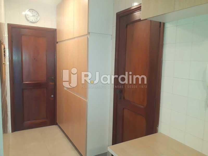 entrada de serviço - Compra Venda Avaliação Imóveis Apartamento Lagoa 3 Quartos - LAAP30831 - 27