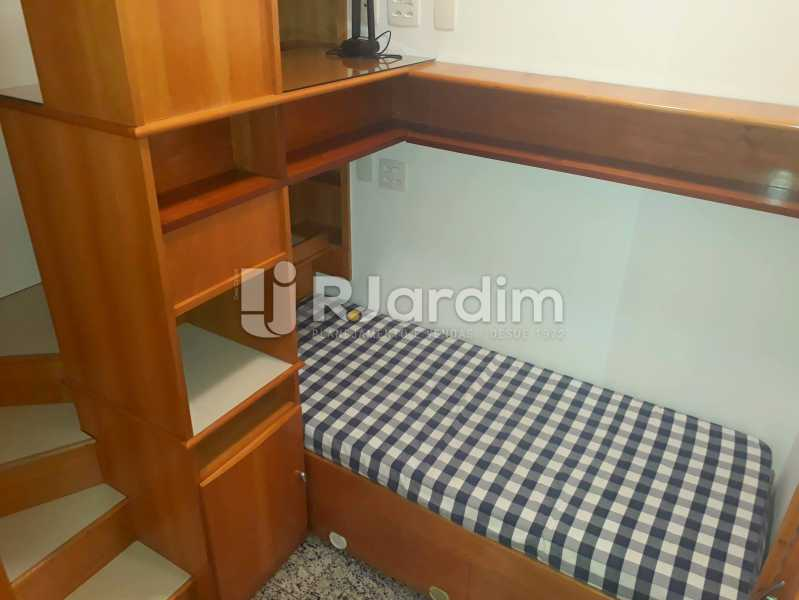 suíte - Compra Venda Avaliação Imóveis Apartamento Lagoa 3 Quartos - LAAP30831 - 22