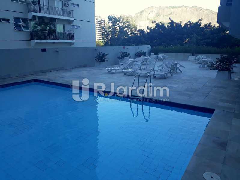 piscina - Compra Venda Avaliação Imóveis Apartamento Lagoa 3 Quartos - LAAP30831 - 31