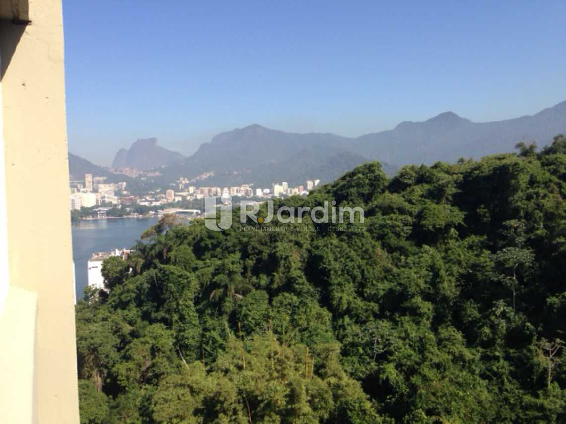 Vista da Sala - Compra Venda Avaliação Imóveis Apartamento Lagoa 3 Quartos - LAAP30823 - 20