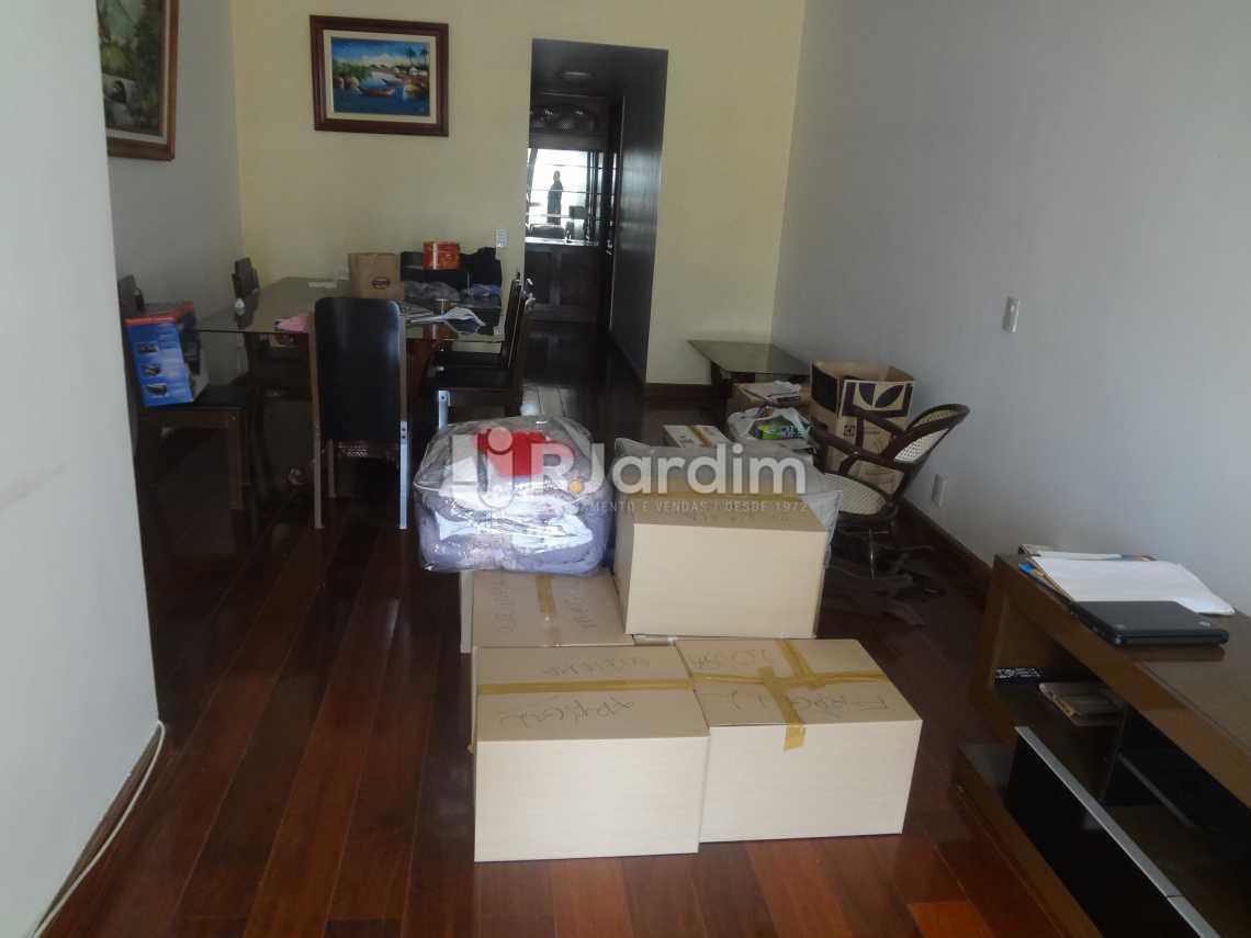 Sala em dois ambientes - Compra Venda Avaliação Imóveis Apartamento Gávea 3 Quartos - LAAP30824 - 1