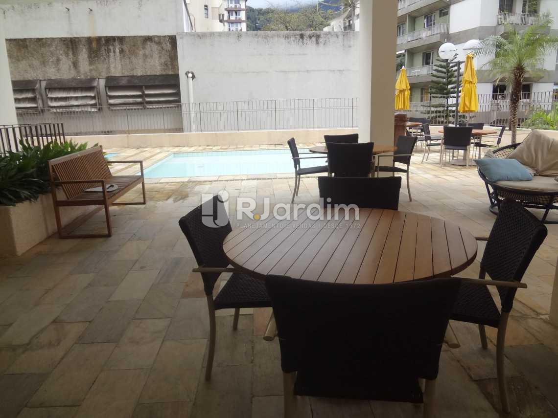 Estar do play com piscina - Compra Venda Avaliação Imóveis Apartamento Gávea 3 Quartos - LAAP30824 - 21