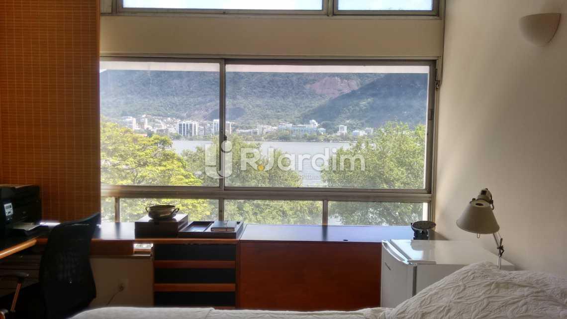 quarto / frontal  - Apartamento Padrão / 4 Quartos / Lagoa / Zona sul / Rio de Janeiro RJ - LAAP40370 - 17