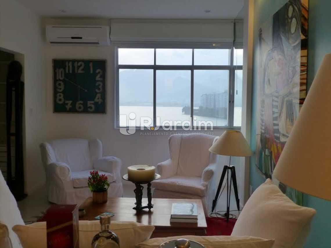 SALA - Apartamento 2 quartos para alugar Lagoa, Zona Sul,Rio de Janeiro - R$ 5.000 - LAAP20588 - 3